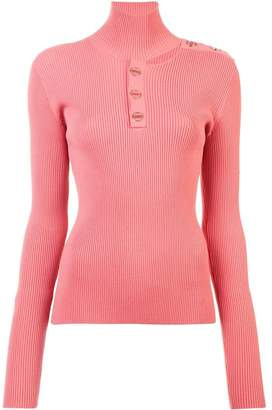 Dion Lee turtleneck fitted sweater