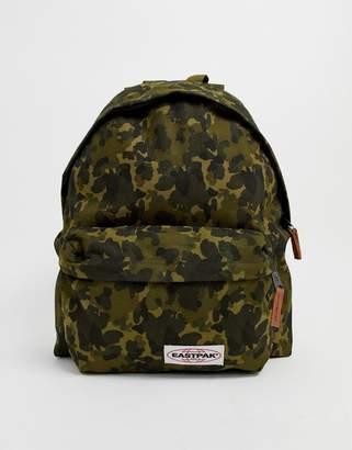 Eastpak Padded Pak'R backpack in camo print 24l