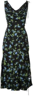 Altuzarra asymmetric floral print dress
