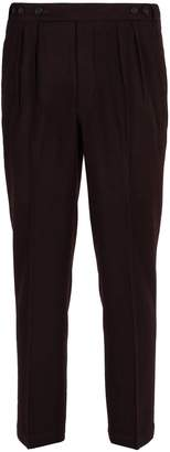 Massimo Alba Micro-houndstooth wool trousers