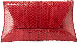 VBH Manila GT Shiny Python Clutch Bag