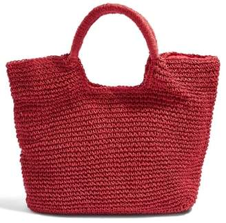 Topshop Brighty Straw Tote Bag