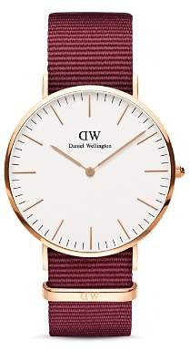 Daniel Wellington Classic Roselyn NATO Watch, 40mm