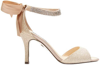 Nina Vinnie Champagne Bliss Satin Sandal