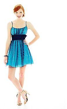 JCPenney Sequin Short Dress