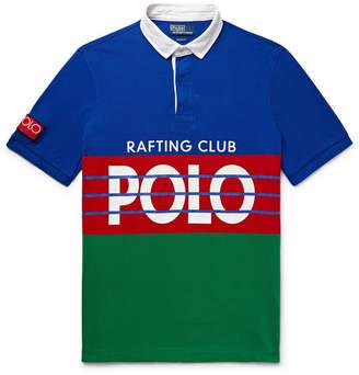 Polo Ralph Lauren High Tech Logo-Print Cotton-Pique Polo Shirt