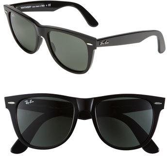 Women's Ray-Ban Large Classic Wayfarer 54Mm Sunglasses - Black