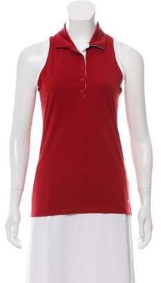 Nike Sleeveless Point Collar Top