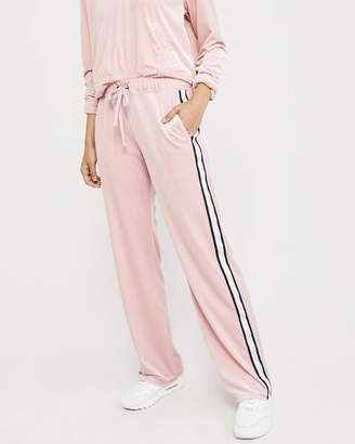 Abercrombie & Fitch Wide-Leg Track Pants