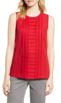 Vince Camuto Pintuck Detail Top