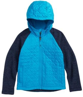 The North Face Water Repellent Quilted Sweater Fleece Jacket