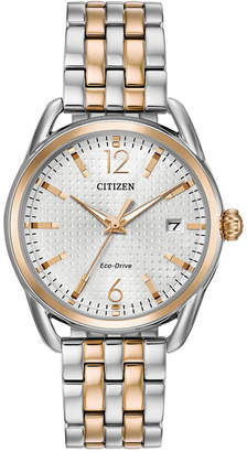 Citizen Drive from Eco-Drive Women Two-Tone Stainless Steel Bracelet Watch 36mm