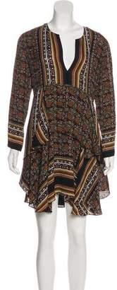 A.L.C. Printed Silk Dress w/ Tags