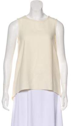 Rag & Bone Sleeveless Bateau-Neck Blouse