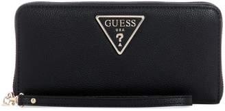 GUESS Large Analise Textured Zip-Around Wallet