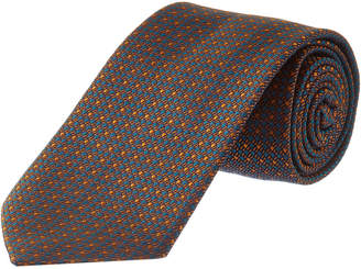 Dolce & Gabbana Blue & Orange Silk Tie
