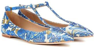 Tory Burch Ashton brocade ballerinas