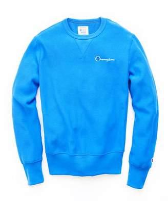Todd Snyder + Champion Reverse Weave Retro Bright Sweatshirt In Blue