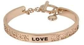 "BCBGeneration Affirmation ""Love"" Cuff Bracelet"