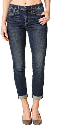 Nicole Miller New York Soho High-Rise Roll-Cuff Jeans