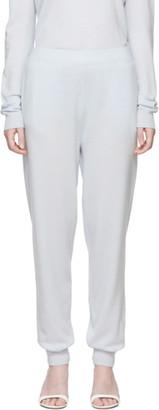 Jil Sander Blue Cashmere Lounge Pants