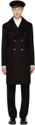 Burberry Black Wool Handsworth Coat