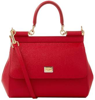 Dolce & Gabbana Small Leather Sicily Bag