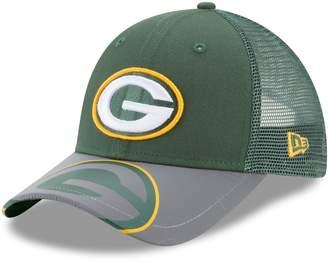 New Era Youth Green Bay Packers 9FORTY Mega Flect Snapback Cap