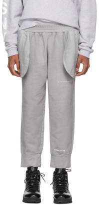 A-Cold-Wall* Grey Compressed Logo Lounge Pants