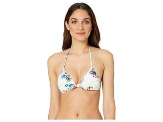Bikini Lab THE Tropical Oasis Knotted Triangle Top
