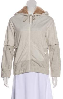 Marc by Marc Jacobs Hooded long Sleeve Jacket
