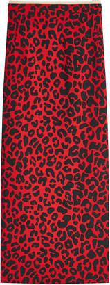 N°21 N21 Leopard Print Midi Skirt