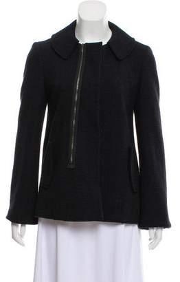 Marni Jacquard Button-Up Jacket