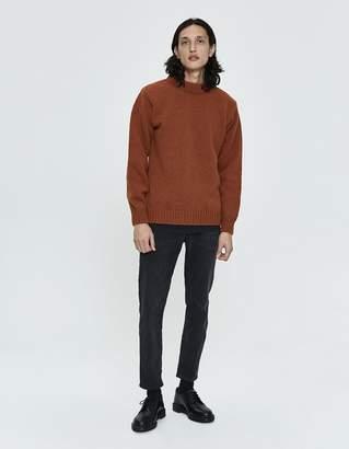 Devold Nansen Crewneck Sweater in Rust