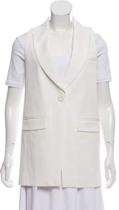 Rachel Zoe Longline Structured Vest