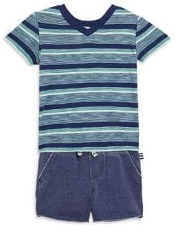 Splendid Baby's V-Neck T-Shirt and Short Set