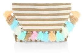 JADEtribe Nautical Tassel Fold Clutch