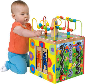 Alex Toys Jr. My Busy Town Wooden Activity Cube