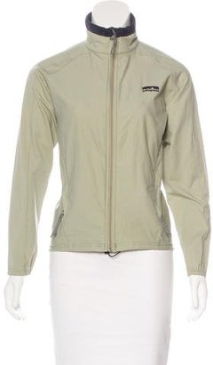 Patagonia Long Sleeve Zip-Up Jacket $65 thestylecure.com