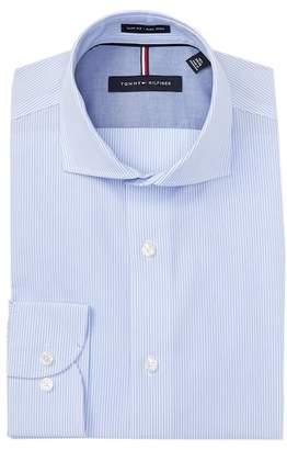 Tommy Hilfiger Striped Slim Fit Dress Shirt