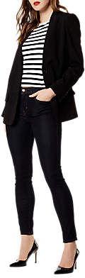 Karen Millen Soft Tailoring Jacket, Black