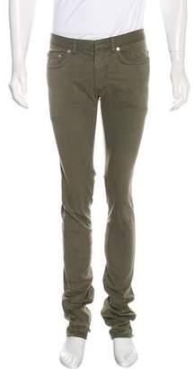 Christian Dior 2016 Twill Five-Pocket Pants
