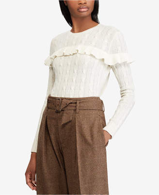 Polo Ralph Lauren Ruffled Sweater