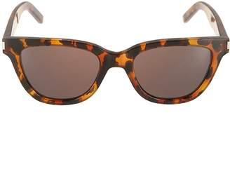 Saint Laurent Leopard Sunglasses