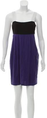 Rag & Bone Tricolor Mini Dress