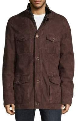 HUGO BOSS T-Cobo Suede Field Jacket