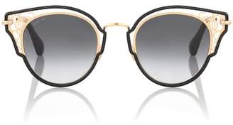 Jimmy Choo Dhelia butterfly sunglasses