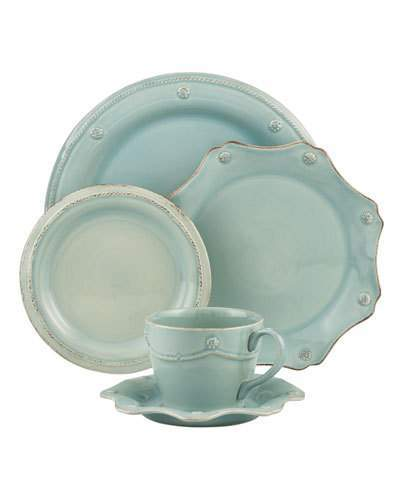 Juliska Berry & Thread Ice Blue Dinner Plate