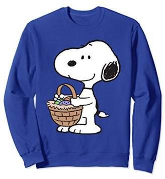 Peanuts Snoopy Easter Basket Sweatshirt