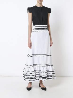 Lisa Marie Fernandez Ric rac fiesta maxi skirt